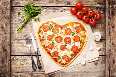 Pizza Margherita Vegan con Verdure